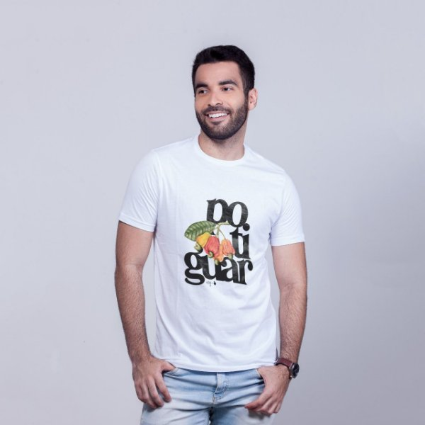 Camiseta Potiguar Branca