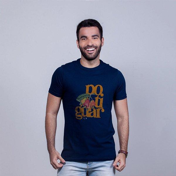 Camiseta Potiguar Azul Marinho