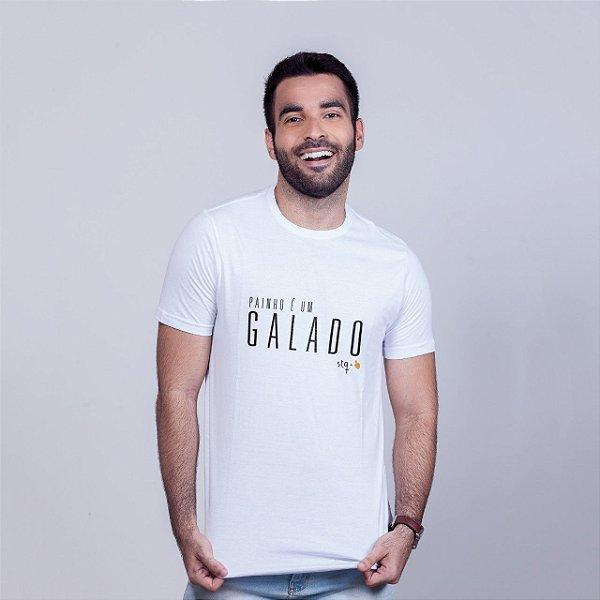 Camiseta Painho é um Galado STQ Branca