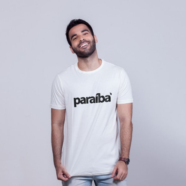 Camiseta Paraíba Branca