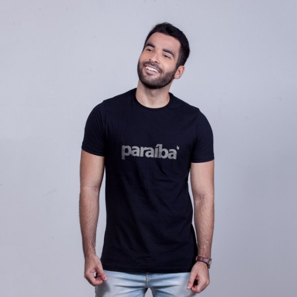 Camiseta Paraíba Preta