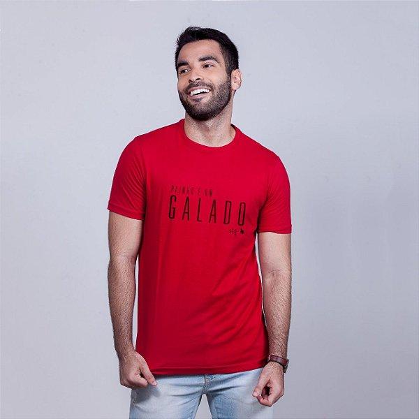 Camiseta Painho é um Galado STQ Vermelha