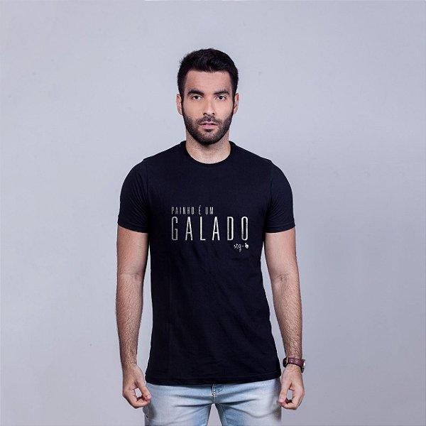 Camiseta Painho é um Galado STQ Preta