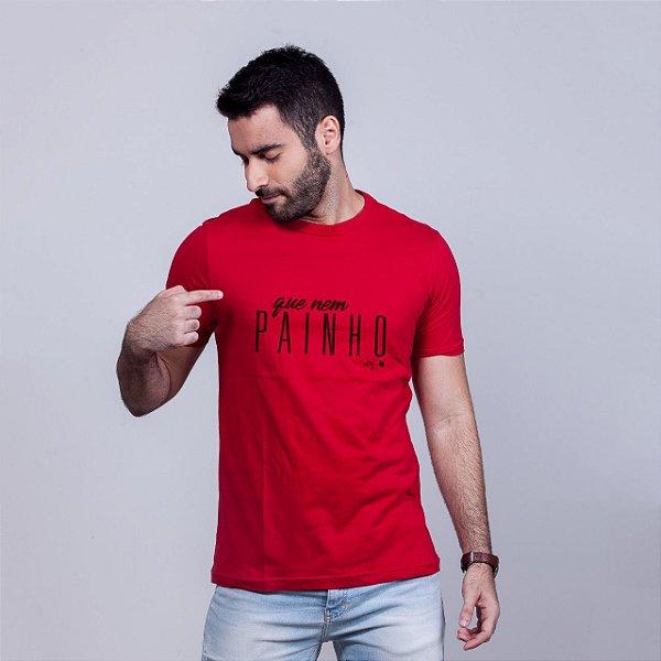 Camiseta Que nem Painho Vermelha