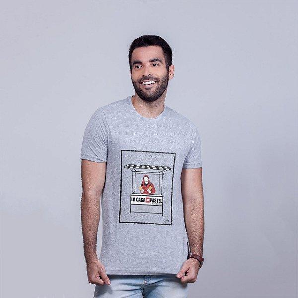 Camiseta La Casa de Pastel Mescla Amandrafts