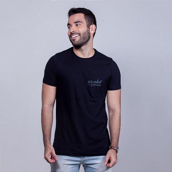 Camiseta Painho é Fuderoso Básica Preta
