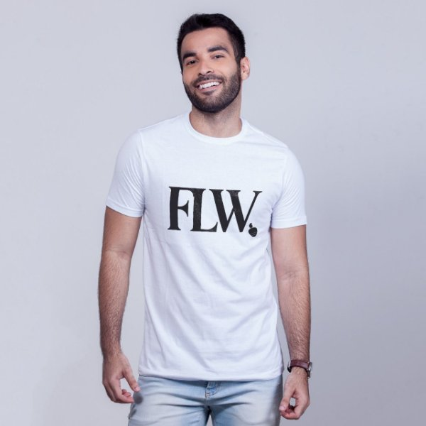 Camiseta FLW Branca
