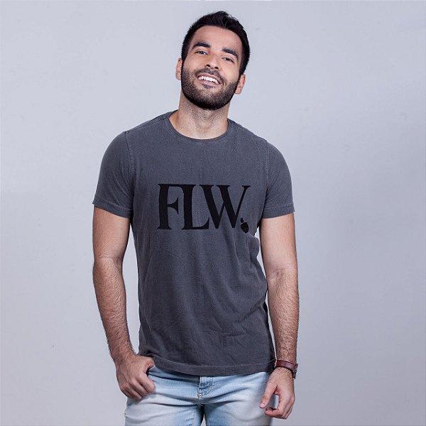 Camiseta Estonada FLW Chumbo