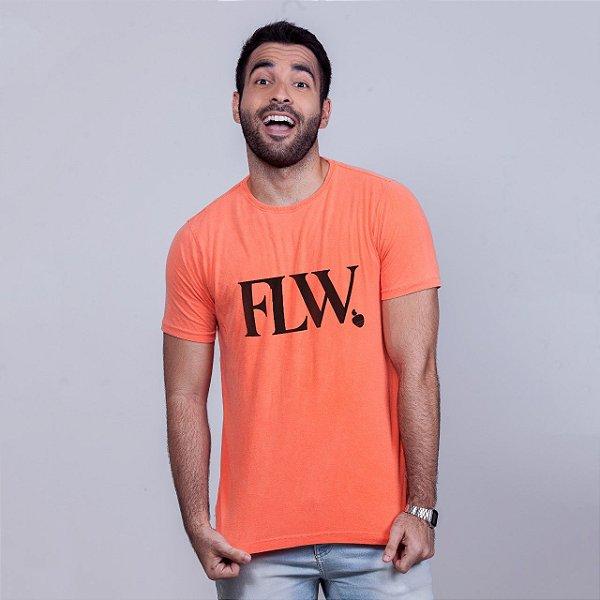 Camiseta Estonada FLW Laranja