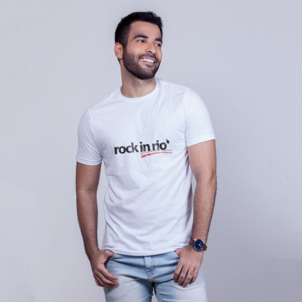 Camiseta Rock in Rio Grande do Norte Branca