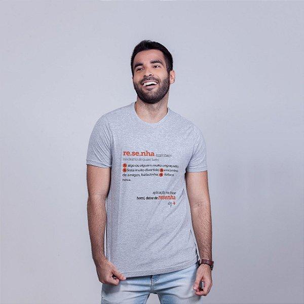 Camiseta Resenha Dicionário Mescla
