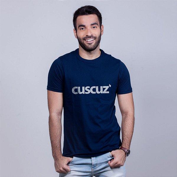 Camiseta Cuscuz Azul Marinho