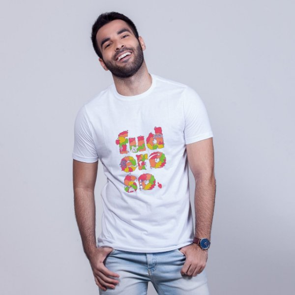 Camiseta Fuderoso Color Branca