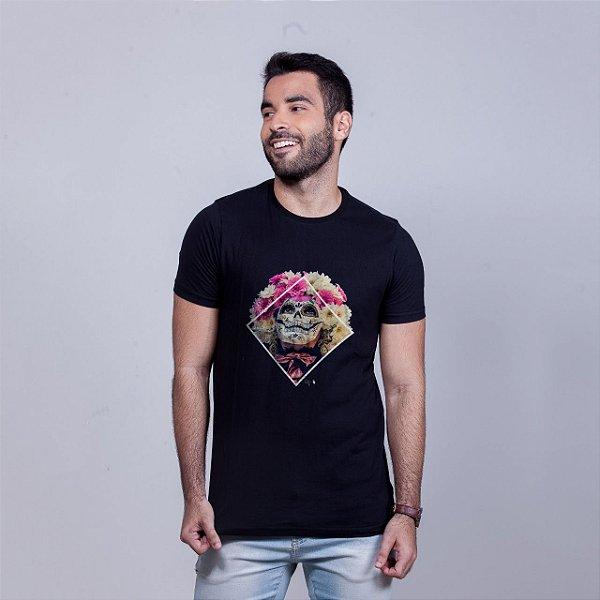 Camiseta Florida Preta Pedro FTZA