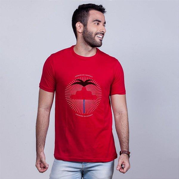 Camiseta Invasão Potiguar Vermelha