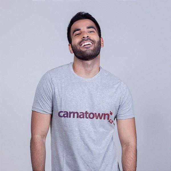 Camiseta Carnatown Mescla Batendo Perna