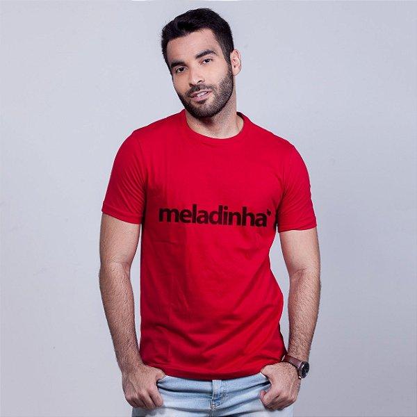 Camiseta Meladinha Vermelha
