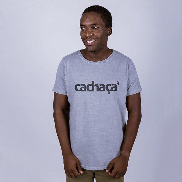 Camiseta Estonada Cachaça Cinza