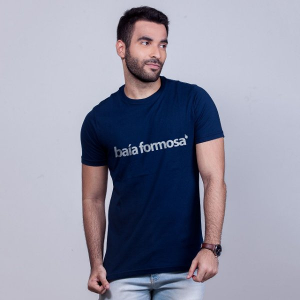 Camiseta Baía Formosa Azul Marinho