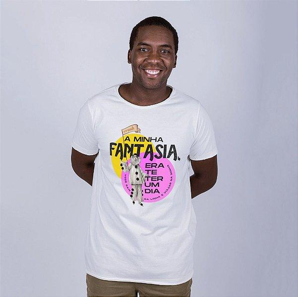 Camiseta A Fio A Minha Fantasia Off White Umazarte