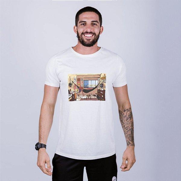 Camiseta Lo-Fi Natal Off White Amandrafts