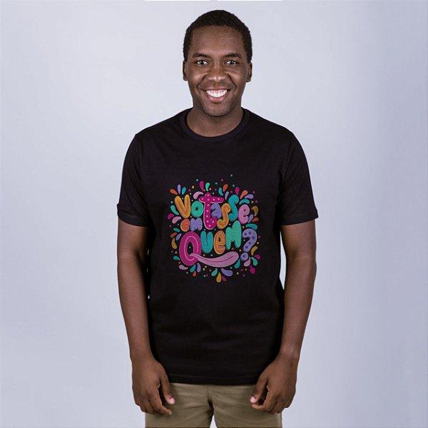 Camiseta Votasse Em Quem? Preta Amandrafts