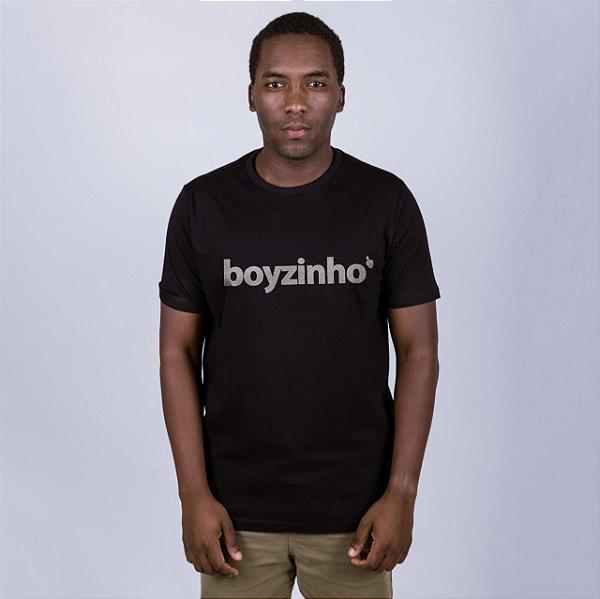 Camiseta Boyzinho Preta