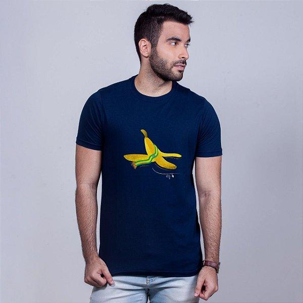 Camiseta Banana Marinho