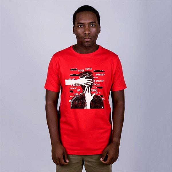 Camiseta Ditadura Nunca Mais Vermelha