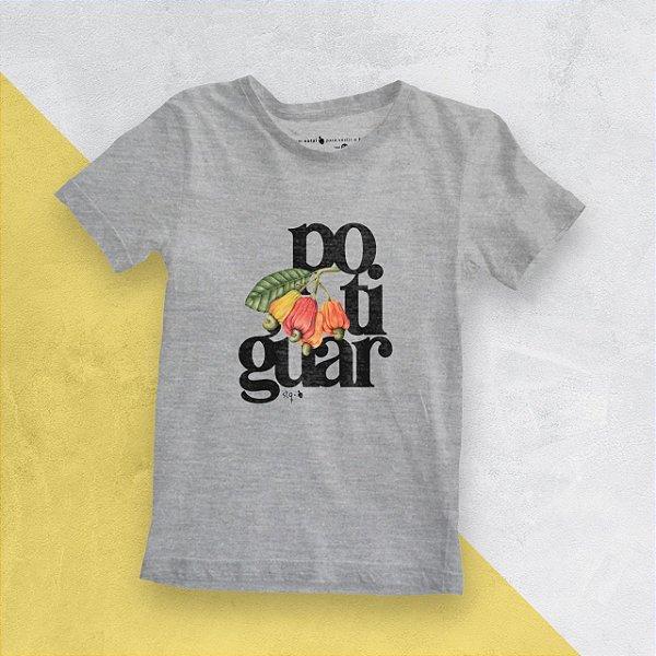 Camiseta Infantil Potiguar Mescla