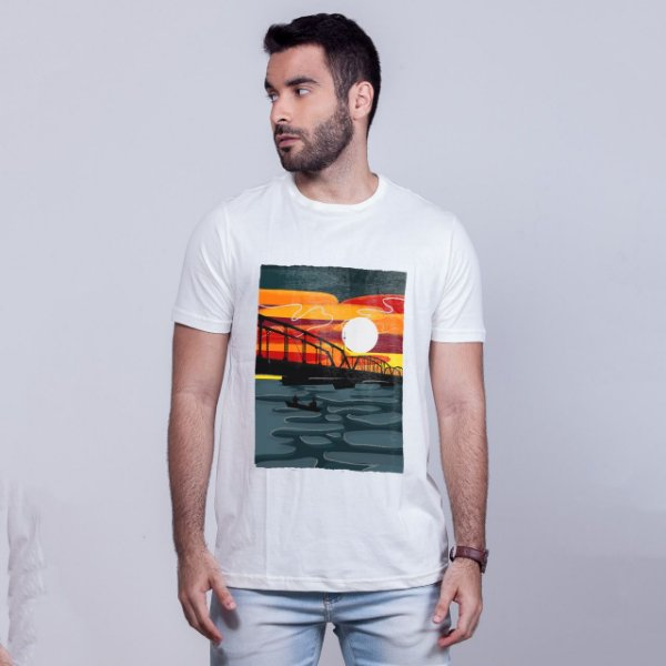 Camiseta Ponte Velha Branca