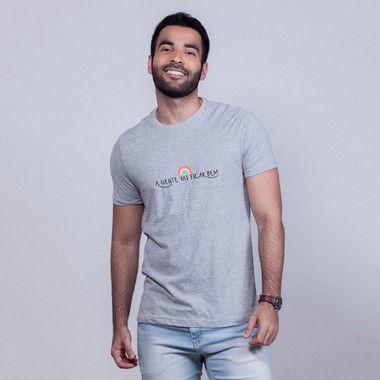 Camiseta Ficar Bem Mescla