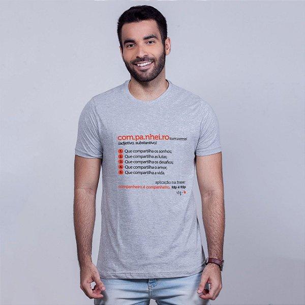 Camiseta Companheiro Dicionário Mescla