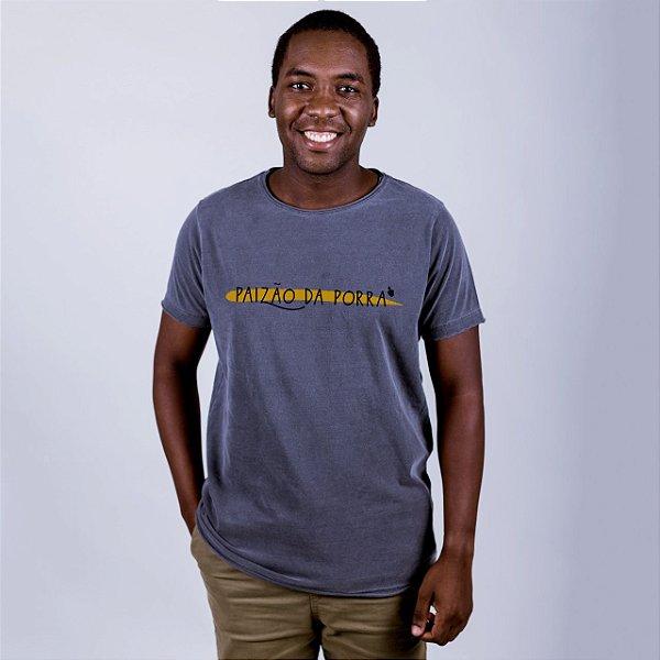Camiseta A Fio Estonada Paizão da Porra 2020 Chumbo