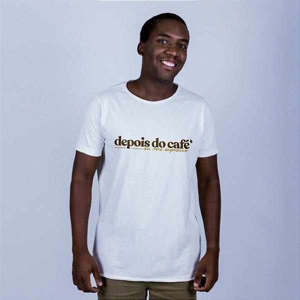 Camiseta Estonada A Fio Depois do Café Off White