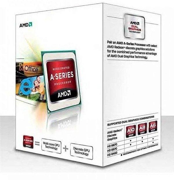 Processador AMD A4 4000 Dual-Core 3.0GHz (3.2GHz Max Turbo) - AD4000OKHLBOX