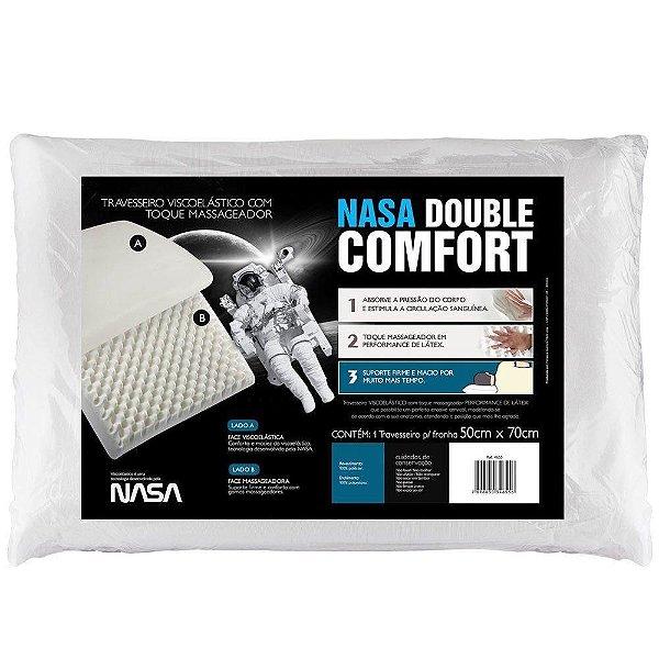 Travesseiro Fibrasca Nasa Plus 100% Viscoelástico