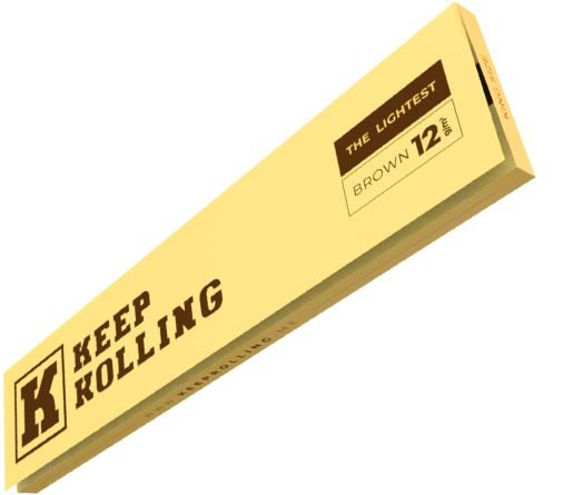Seda Keep Rolling King Size Brown