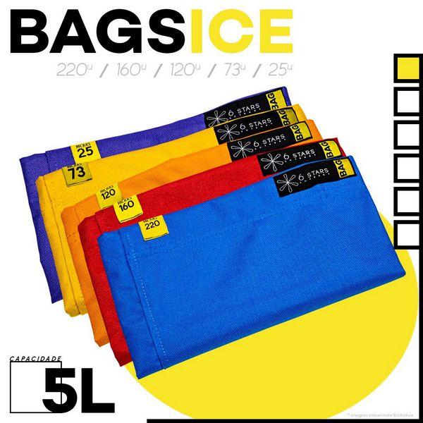 Kit c/ 5 Bags Ice (5L)b + Tela De Secagem 6Star Extract