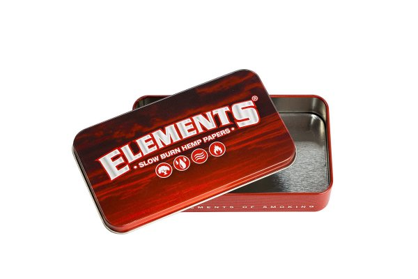 Elements Red Tin case