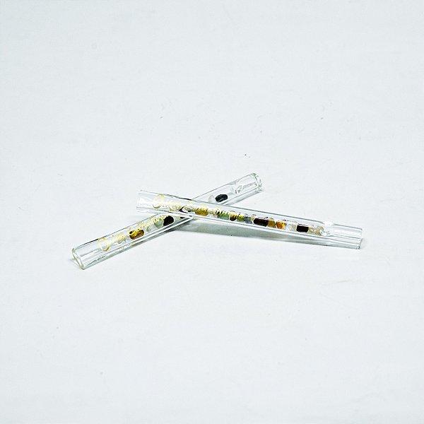 Piteira de vidro OIKOS 5mm Curta Cristais