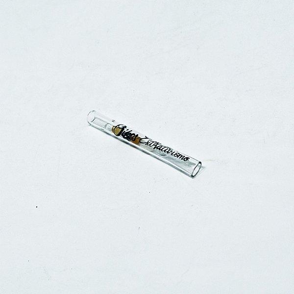 Piteira de vidro OIKOS 7mm Long Cristais