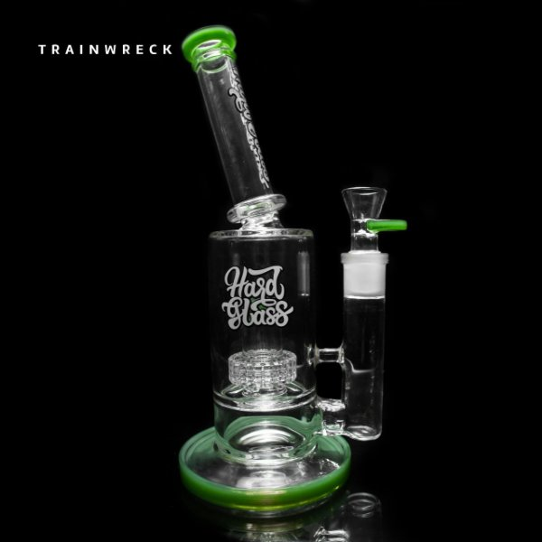 Bong Hard Glass Trainwreck