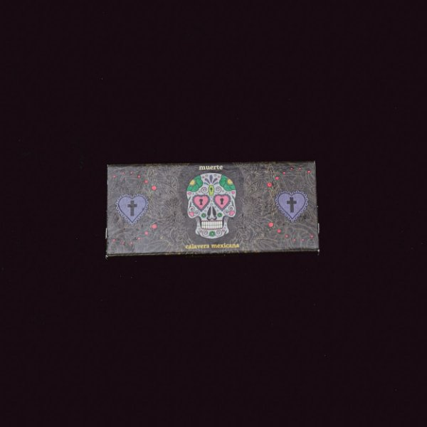 Kit Seda + Piteiras Caveira Mexicana King Size Brown