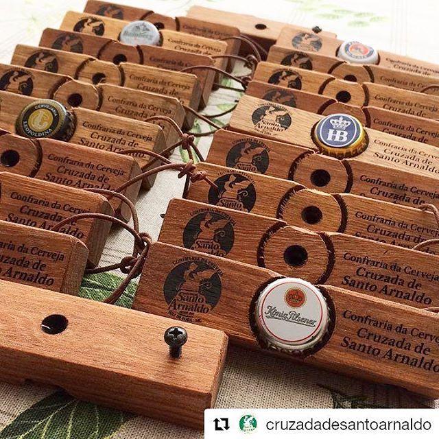 Abridor de Garrafa FOTO de cerveja em Madeira personalizado