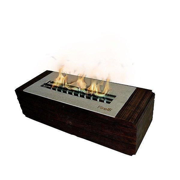 Lareira Ecológica Verona 30 - com regulagem de chama