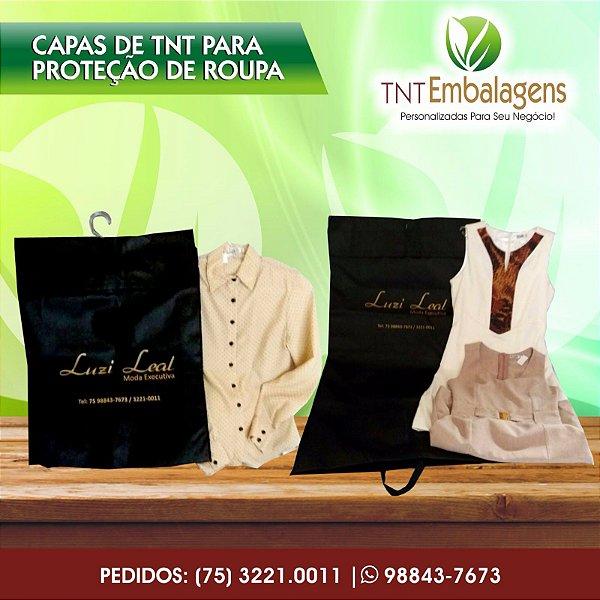 SACOS DE TNT PERSONALIZADOS PARA PROTEÇÃO DE ROUPAS - TNT EMBALAGENS