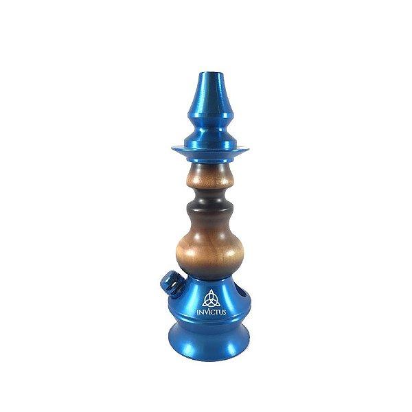 Stem Narguile Invictus Star - Azul/Sombreado