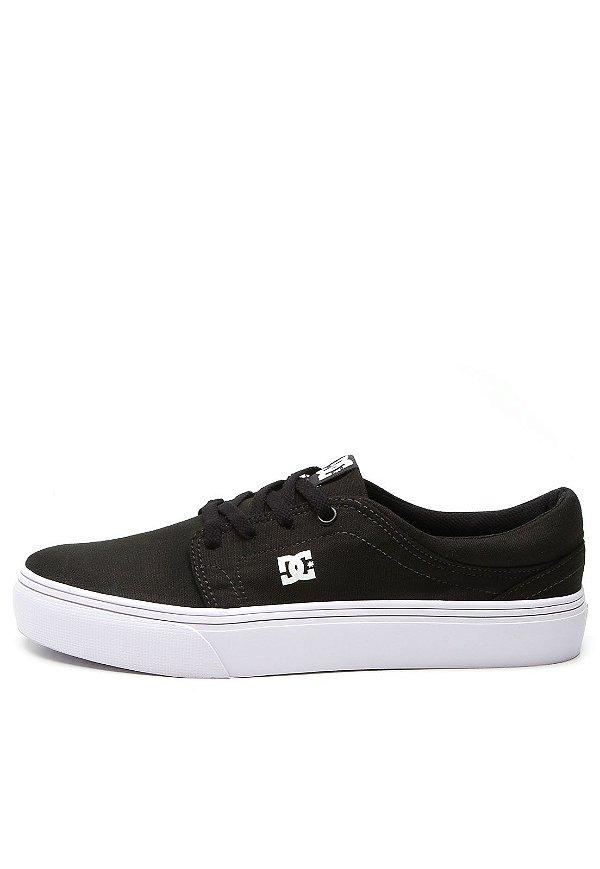 Tênis DC SHOES Trase TX BLACK   WHITE - JD Skate Shop a0dfa5db17fa9