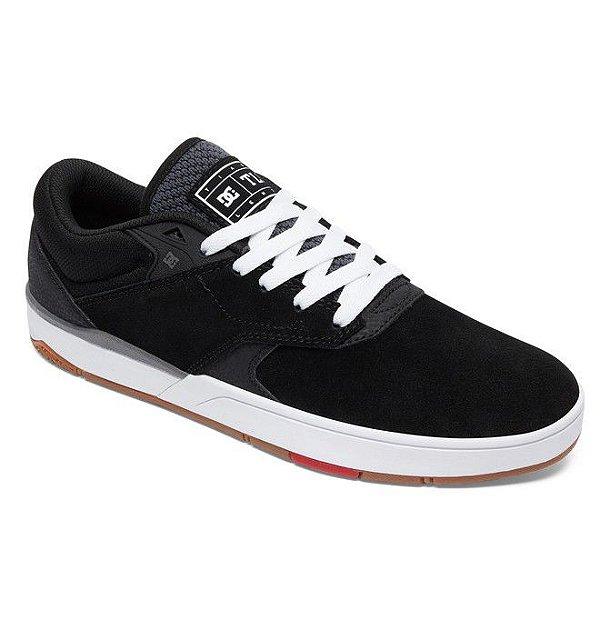 eb5c743e4ffe3 TÊNIS DC SHOEs TIAGO S IMP BLACK/WHITE - JD Skate Shop